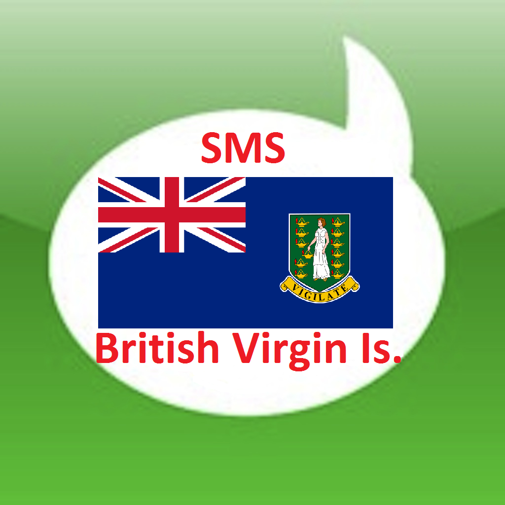 Free SMS British Virgin Islands Android App